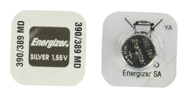 Energizer 389 1.5v Watch battery (Silver Oxide)