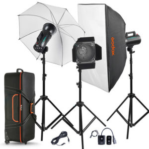 Godox GS400-A 3 Light Studio Kit