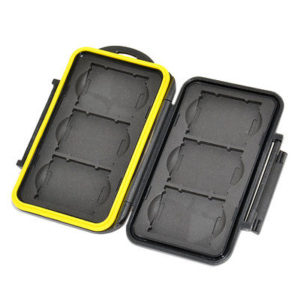 JJC MC-SD8 Rugged Water-Resistant Memory Card Case