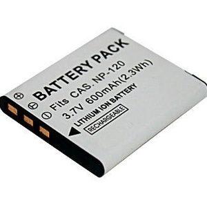 GPB Casio NP-120 Battery