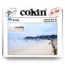 Cokin P122 Filter, P, Blue Graduated B1