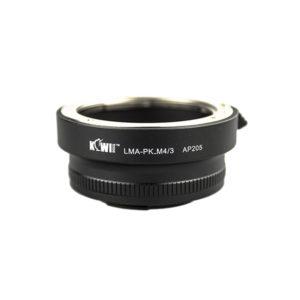 Kiwi PK-FX Pentax PK lens to Fujifilm Fuji FX Mount Camera Adapter. fits X-Pro1 X-E1 X-M1-0