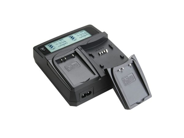 Universal digital Dual Charger LS-PC201 Universal digital Dual Charger Charge two same or different batteries simultaneously,12-24V DC input can be used in car and airplane,with Optional Accessories-0