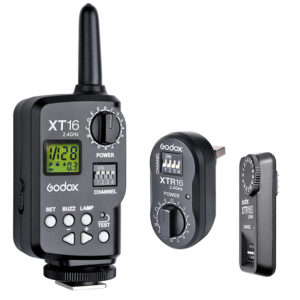 GODOX 16 CHANNELS XTR-16S REMOTE 2.4G WIRELESS POWER-CONTROL FLASH TRIGGER RECEIVER