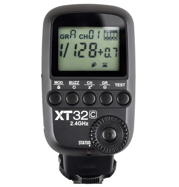 GODOX XT32C HSS 1/8000S BUILD-IN 2.4G WIRELESS POWER CONTROL FLASH TRIGGER FOR CANON