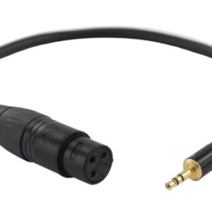 JJC CABLE XLR2MSM Adapter for DSLR Camera microphone audio recording input |Camera Accessories-0