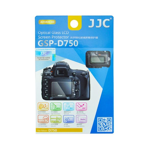 JJC GSP-D750 Tempered Toughened Optical Glass Camera Screen Protector|for sale in South Africa-0