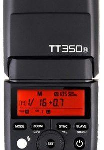 GODOX TT350N 2.4G TTL SPEEDLITE GN36 1/8000S HSS CAMERA FLASH FOR NIKON