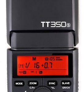 GODOX TT350S 2.4G TTL SPEEDLITE FLASH FOR SONY MIRRORLESS CAMERAS