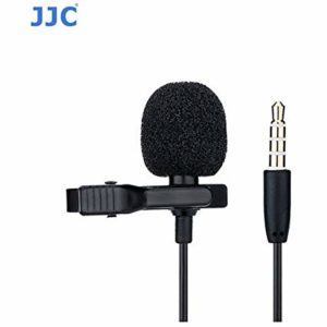 JJC SGM-28 Omnidirectional Lavalier Microphone