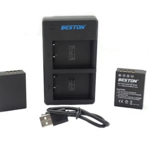 BESTON NP-W126 CAMERA BATTERY PACK AND QUICK USB DUAL CHARGER FOR FUJI