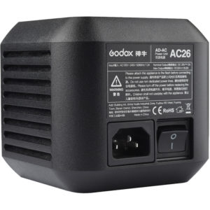 GODOX AC 26 ADAPTER FOR AD600PRO WITSTRO OUTDOOR FLASH