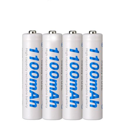 Beston AAA 1100 mAh Rechargeable Battery Packs of 4
