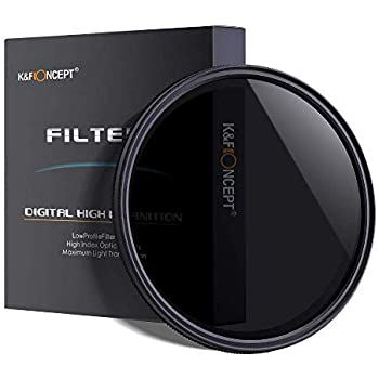 K & F 40.5mm ND2 to ND400 Variable Neutral Density ND Filter