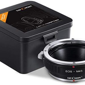 K&F Concept Lens Mount Adapter for Canon EOS EF Mount Lens to M4/3 MFT Olympus Pen and Panasonic Lumix Cameras