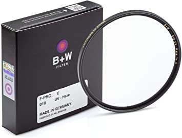 B + W 39mm UV Protection Filter (010) for Camera Lens – Standard Mount (F-PRO), E Coating, 2 Layers Resistant Coating, Photography Filter, 39 mm, Clear Protector