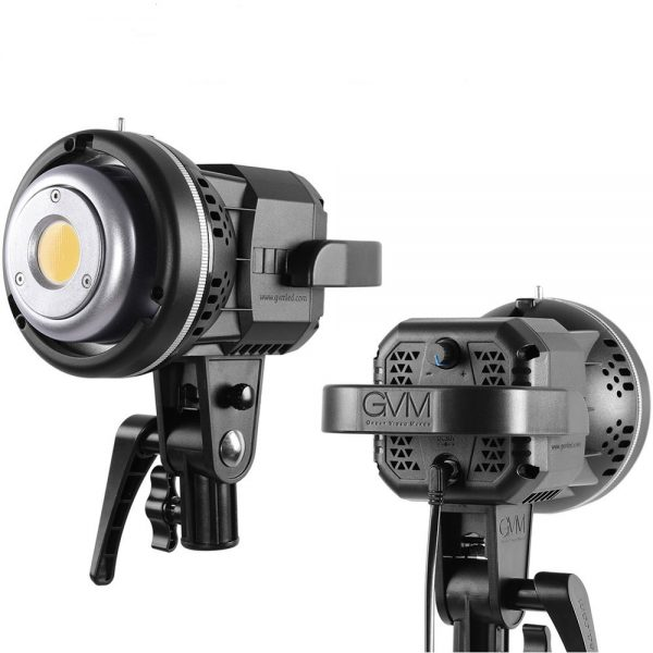 GVM Video Light LS-P80s LED 2-Light Kit with Colour Filters