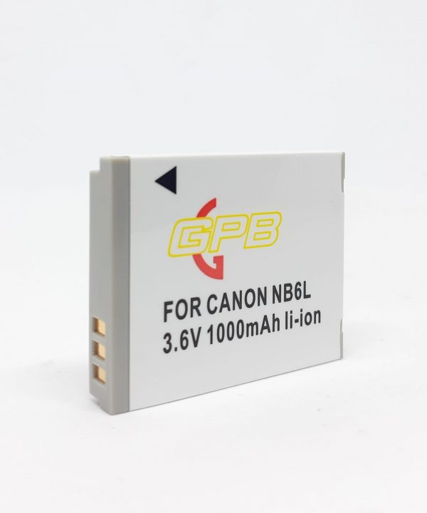 GPB Canon NB-6L Camera Battery