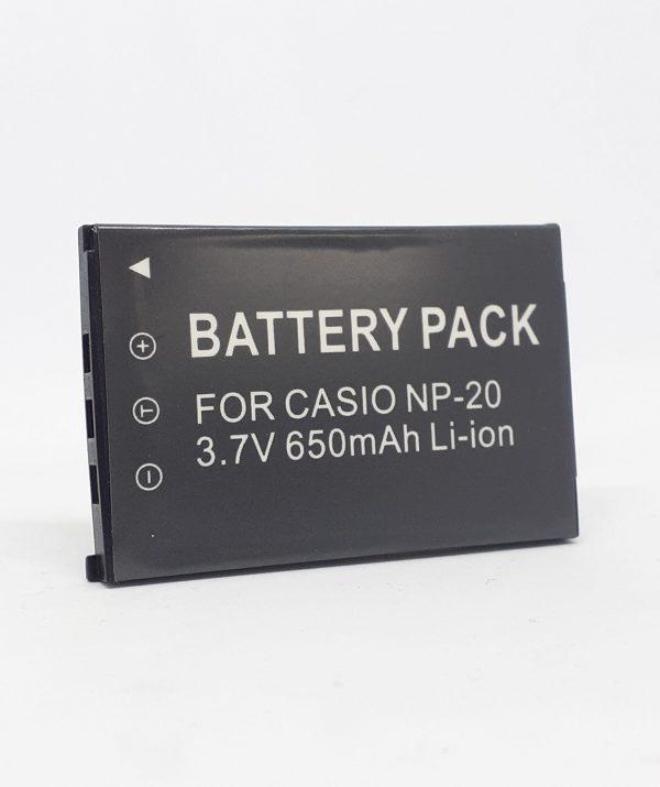 GPB Casio NP-20 Camera Battery